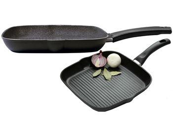 Сковорода гриль Ballarini Rialto Granitium 28X28cm