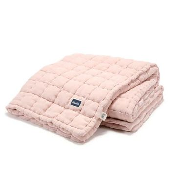 купить Одеяло La Millou Biscuit Collection – Powder Pink 140x200 см в Кишинёве