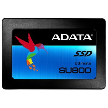 """2.5"""" SSD 256GB  ADATA Ultimate SU800, SATAIII, Sequential Reads: 560 MB/s, Sequential Writes: 520 MB/s, Advanced LDPC ECC Engine, ADATA SSD Toolbox & Migration Utility, 3D NAND TLC"""