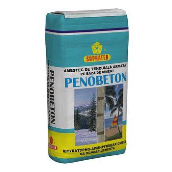 Supraten Штукатурка цементная Penobeton 25кг