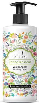 купить 26.55 CARELINE Крем для тела Spring Blossom Vanilla Apple (400 мл.) 992362 в Кишинёве