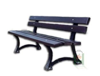 Ножка чугунная для садовой скамейки City IV