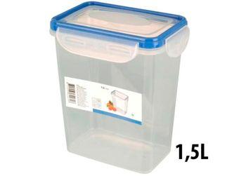 купить Емкость для хранения продуктов 1.5l, 15.5X11X17.5cm, пластик в Кишинёве