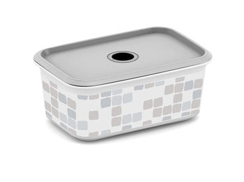 Коробка с крышкой с отверстием Mosaic, XS, 19X13XH8cm