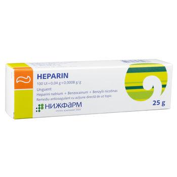 cumpără Heparin 100UI/1g 25g ung. în Chișinău