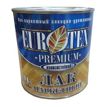 Eurotex Лак Eurotex Premium Полуматовый  0.8л
