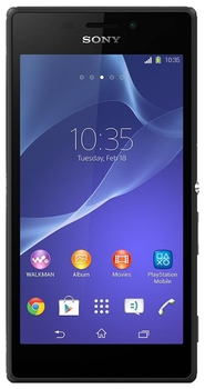 Sony Xperia M2 (D2302) 2 SIM (DUAL) Black
