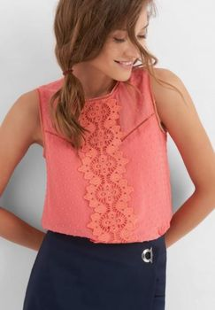 Блуза ORSAY Коралловый 663243