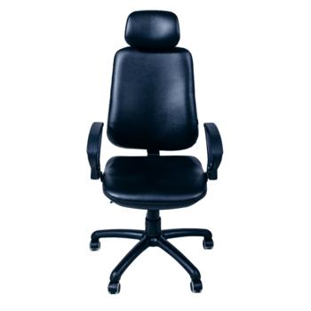 Офисное кресло Regbi черное (подголовник)