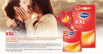 купить Презервативы - RITEX XXL - Экстра большие, 3шт. в Кишинёве
