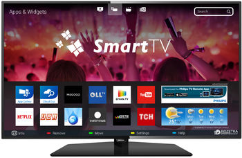 "cumpără ""32"""" LED TV Philips 32PHS5301/12, Black (1366x768 HD Ready, SMART TV, PPI 500 Hz, DVB-T/T2/C/S2) (32"""", 81 cm, Black, HD Ready, PPI 500Hz, Smart TV, 2 HDMI, 2 USB  (foto, audio, video, USB recording), WiFi, DVB-T/T2/C/S2,  Speakers 2x8W, 5.2 Kg, VESA 100x100)"" în Chișinău"