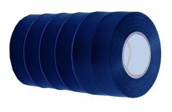 Изолента 19мм*10м*130мк CAMAT 6шт синяя