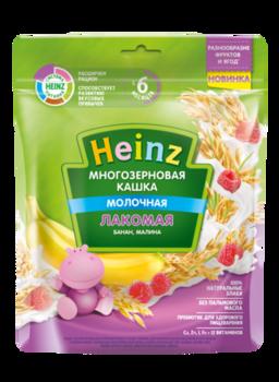 купить Каша Heinz Лакомая многозерновая банан-малина 170г с 6месяцев в Кишинёве