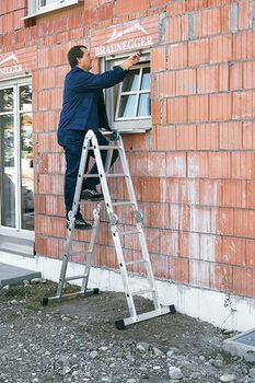 купить Шарнирная лестница (4x3ст) Z200 44883 в Кишинёве