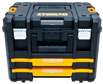 купить Комплект из 2-х ящиков для инструмента DeWALT TSTAK, (TSTAK II+IV) DWST1-70702 в Кишинёве