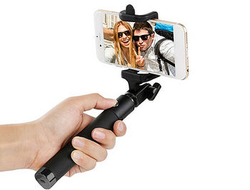 "ACME MH10 Bluetooth selfie stick monopod, Wired selfie stick, up to 5.5"" Smartphone, Stainless steel, 18 - 80 cm, www"