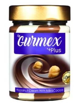 Шоколадно-молочная паста с лесными орехами Gurmex Plus 350г