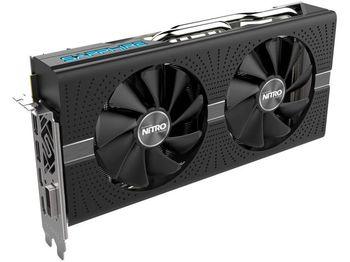 Sapphire NITRO+ Radeon RX 580 8GB DDR5 256Bit 1411/8000Mhz, DVI, 2x HDMI, 2x DisplayPort, Dual-X fans (Two ball bearing), Intelligent Fan Control (IFC-III), NITRO Glow 2, Lite Retail