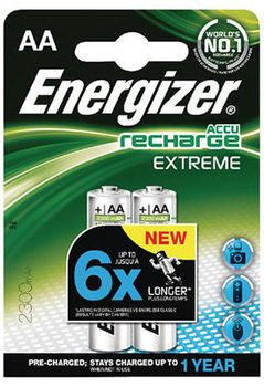 Energizer Rechargeable Extreme AA 2300mAh, FSB2 (blister)