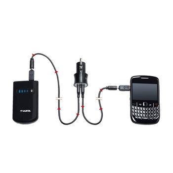 купить Зардка от прикуривателя авто Varta Car Power USB Charger, black, 57930 101 401 в Кишинёве