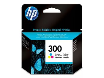 HP No.300 Tri-Colour InkJet Cartridge, with Vivera Inks, 4ml (165pages), DESKJET- D1660, D2560, D2660, D5560, F2420, F2480, F2492, F4210, F4224, F4272, F4280, F4580, PHOTOSMART- C4670, C4680, C4685, C4780
