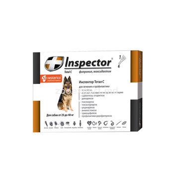 cumpără Inspector Total C picături pentru câini 25 -40 kg în Chișinău