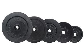 Диск металлический 10 кг, d=30 мм inSPORTline Top Sport Castry 22350 (4296)