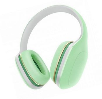 "Xiaomi ""Mi Headphones Comfort"" Headphones, Green, 3.5mm, Microphone, Rated Power 50mW, Speaker Impedance 32ohms, Frequency response: 20~40KHz, Hands free calling features, Cord type cable 1.4 m"