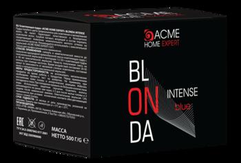 Pudră pentru decolorarea părului, ACME Home Expert Blonda Intense Blue, 500 gr.