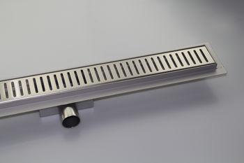 купить Трап водоотвод. линейный dn 50 x 90° STEP (Решетка классик) FLH40-A2 С07 - 600 х 70 комплект в Кишинёве