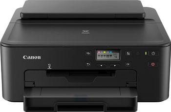 Printer Canon Pixma TS704, Duplex, A4, 4800x1200 dpi_1pl, ESAT 15/10 ipm, Print on CD/DVD, USB 2,0/Ethernet/Wi-Fi & Direct Print, 5 tank - PGI-480PGBK, CLI-481BK, CLI-481C, CLI-481M, CLI-481Y or XL-series