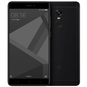 "купить 5.5"" Xiaomi RedMi Note 4X 32GB Black 3GB RAM, Qualcomm Snapdragon 625 Octa-core 2.0GHz, Adreno 506, DualSIM, 5.5"" 1080x1920 IPS 401 ppi, microSD, 13MP/5MP, LED flash, 4100mAh, FM-radio, WiFi-AC, BT4.2, LTE, Android 6.0 (MIUI8), Infrared port, Fingerprint в Кишинёве"