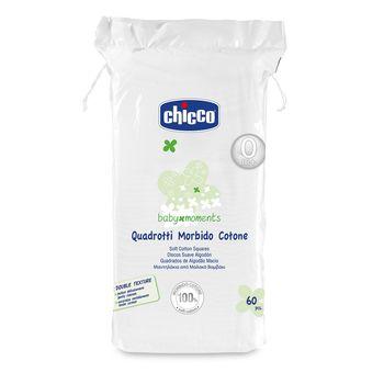 cumpără Chicco Dischete pentru față și corp din bumbac, 0+, 60 buc (26540) în Chișinău