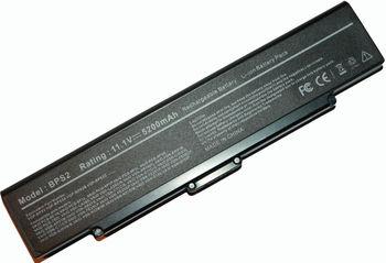 Battery Sony VGN-AR VGN-FE VGN-FJ VGN-FS VGN-N VGN-S VGN-SZ VGN-FT VGN-Y VGC-LB VGC-LA VGN-C BPS2 BPL2 11.1V 5200mAh Black OEM