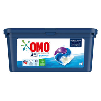 купить Omo Ultimate Trio Capsule Active Clean, 30 шт. в Кишинёве