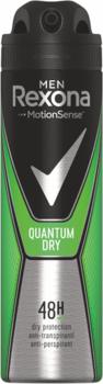 Антиперспирант Rexona Men Quantum Dry, 150 мл