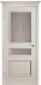 купить Дверь ВЕНА-Ш белый ясень остекленная в Кишинёве