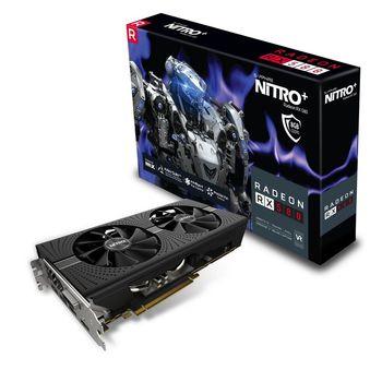 cumpără Sapphire NITRO+ Radeon RX 580 8GB DDR5 256Bit în Chișinău