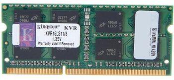 4GB DDR3-1600 SODIMM  Kingston ValueRam, PC12800, CL11,  1.35V
