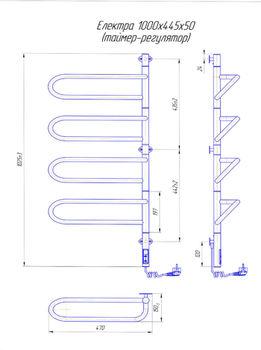 Электра -I 1000х445 TR таймер-регулятор
