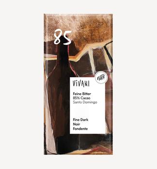 Горький  шоколад 85% био Vivani 100г