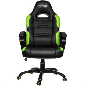 Gaming Chair Gamemax GCR07,  Black/Green