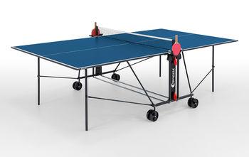 Теннисный стол с сеткой Outdoor Sponeta S1-43 e 4 мм (blue) (3647)