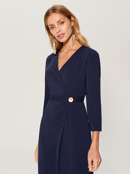 Платье MOHITO Темно синий vq761-95x