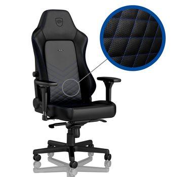 Gaming Chair Noble Hero NBL-HRO-PU-BBL Black/Blue
