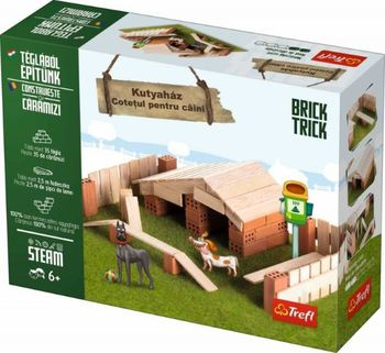 """Конструктор керамический Brick Trick """"Doghouse"""", код 42221"""