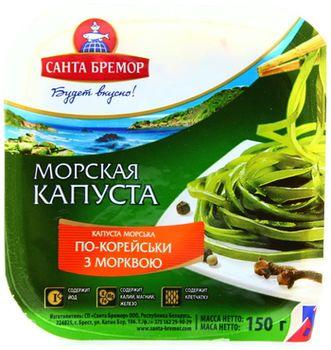 """купить Морская капуста  с морковью """"Санта Бремор"""" 150гр в Кишинёве"""