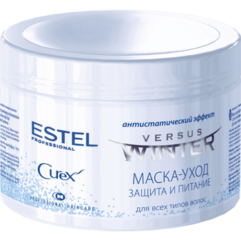 Mască pentru toate tipurile de păr, ESTEL Curex Versus Winter, 500 ml., Nutriție și protecție