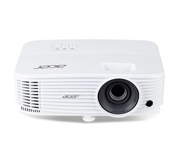 ACER P1150 (MR.JPK11.001) DLP 3D, SVGA, 800x600, 20000:1, 3600Lm, 15000hrs (Eco), 2 x HDMI, VGA, Audio Line-in/out, 3W Mono Speaker, White, 2.5kg
