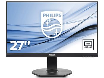 "cumpără 27.0"" Philips ""272B7QPJEB"", Black (IPS, 2560x1440, 5ms, 350cd, LED20M:1, D-Sub+HDMI+DP, HAS, Spk) (27.0"" IPS W-LED, QHD 2560x1440 , 0.233mm, 5ms GTG, 350 cd/m², DCR 20 Mln:1 (1300:1), 16.7Mln colors, 178°/178° @C/R>10, VGA + DisplayPort 1.2 + miniDP 1.2 + HDMI 1.4, Stereo Audio-In, Headphone-Out, Built-in speakers 2Wx2, USB 3.0 x2-Hub (w/fast charging), Built-in PSU, HAS 130mm, Tilt: -5°/+20°, Swivel +/-175°, Pivot, VESA Mount 100x100, PowerSensor, Black) în Chișinău"